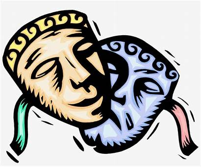 Clipart Greek Theatre Theater Masks Clip Actor