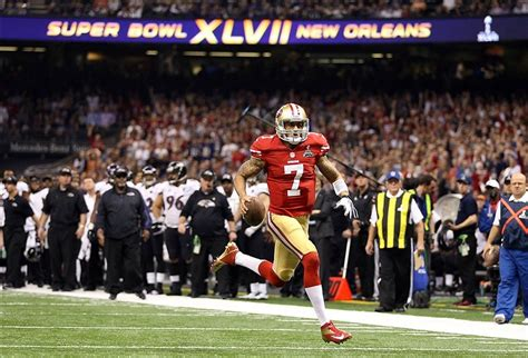 Colin Kaepernick Thinks 49ers Lost Super Bowl 47 Because