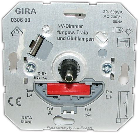 l dimmer using triac dimmers used by olino olino