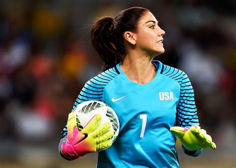 soccer needed   rid  hope solo