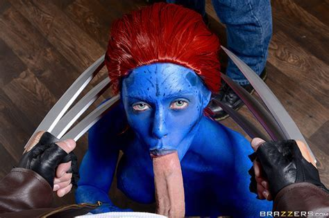 Nicole Aniston Plays Mystique In New X Men Porn Parody