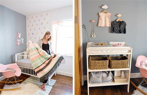 chambre bebe pastel chambre bébé moderne pastel et crochets