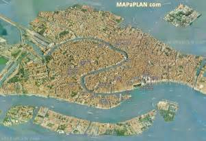 Grand Canal Venice Italy Map