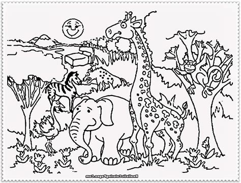 Z Is For Zoo Coloring Page Pages Of Animals Cute