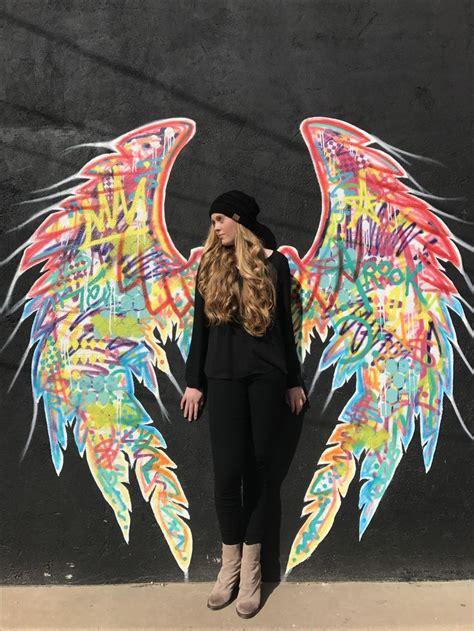 angel wings san angelo tx graffiti photography angel