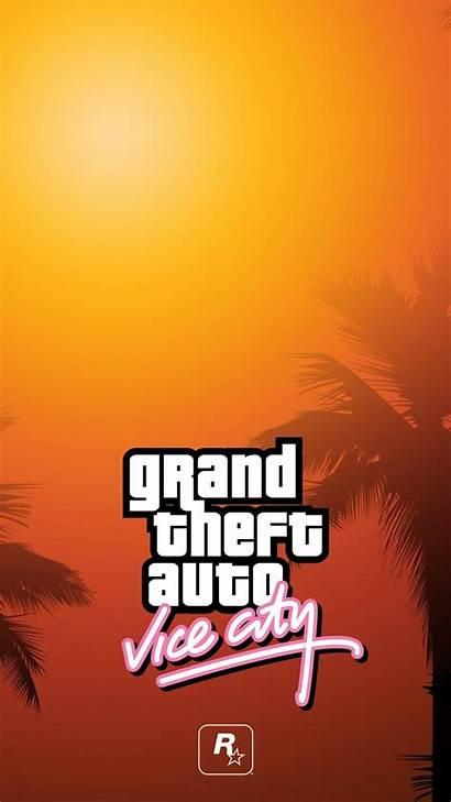 Gta Vice Iphone Wallpapers Theft Grand Rockstar