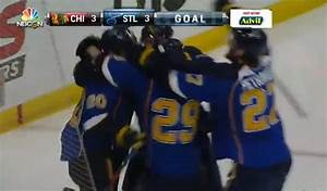 Alexander Steen Wins Game 1 For The St. Louis Blues In ...