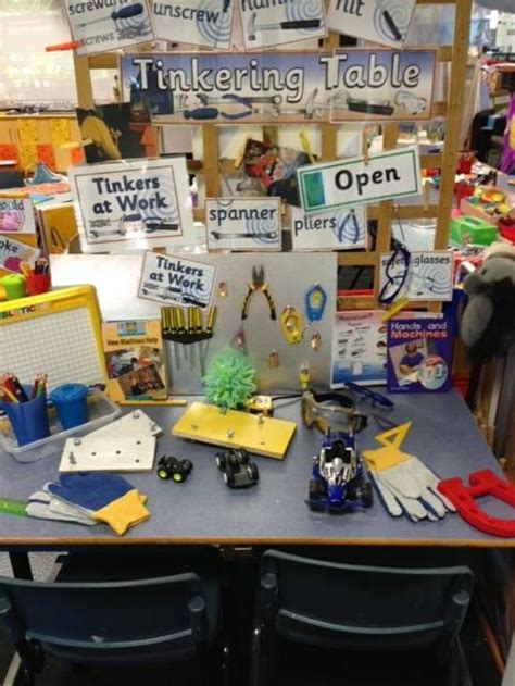 8 Best Tinker Table Images On Pinterest  Classroom Ideas, Kindergarten Science And Play Based