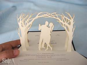 27 fabulous diy wedding invitation ideas diy joy With pop up wedding invitations tutorial