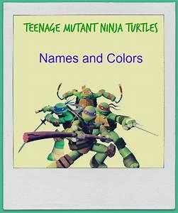 Teenage Mutant Ninja Turtleu002639s Names Bluepurplered