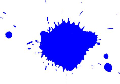 the gallery for gt blue paint splash png
