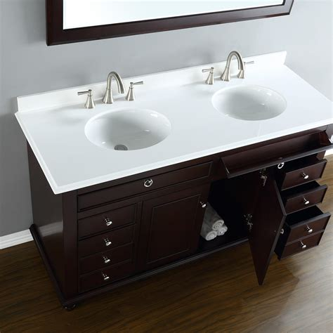mayfield  double sink vanity mission hills furniture