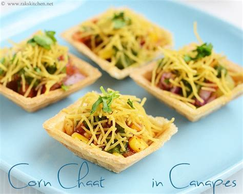 canapes filling recipe corn in canapes starter dishes