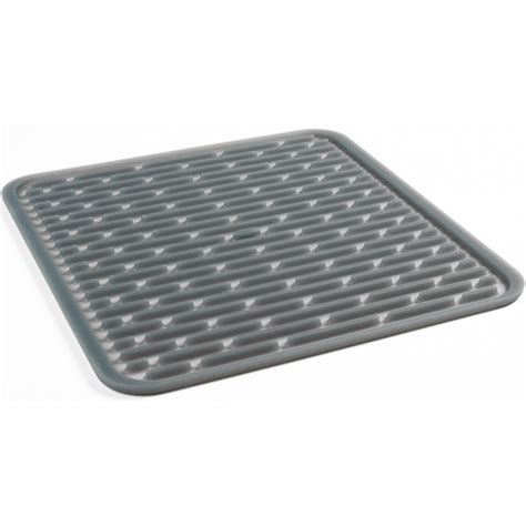 kitchen sink drying mats oxo good grips silicone drying mat in dish racks