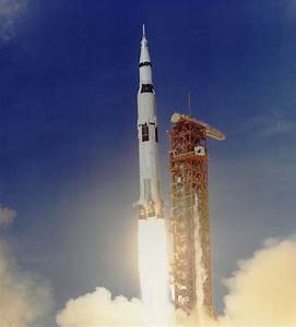 Apollo 11 Launched Via Saturn V Rocket   Full Description ...