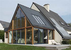 exemples d39extensions de maisons pres de brest finistere With exemple d extension de maison