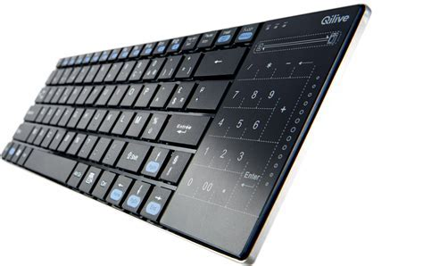 Wireless Touchpad & Keypad Keyboard   Qilive