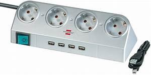 Mehrfachstecker Mit Usb : bre 1153540134 steckdosenleiste desktop power 4 fach mit usb 2 0 hub und scha bei reichelt ~ Eleganceandgraceweddings.com Haus und Dekorationen