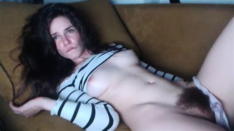 Hairy Girl Masturbate Orgasm