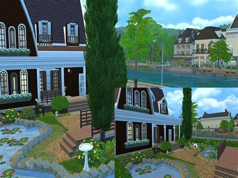 Riverside Dream Cottage By Aabha At Tsr » Sims 4 Updates