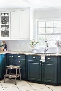 green kitchen cabinet update 1892