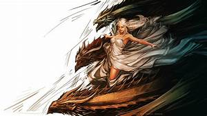 Artwork Blondes Daenerys Targaryen Dragons Fan Art Ga