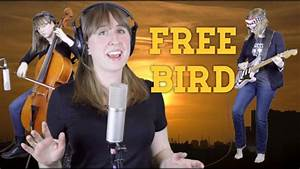 Free Bird - Lynyrd Skynyrd cover - The Doubleclicks - YouTube