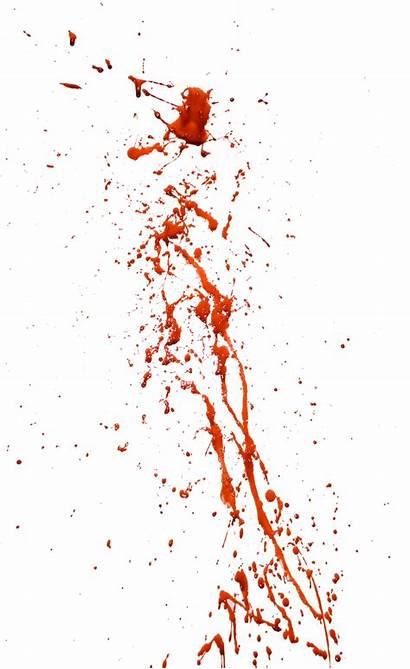 Blood Transparent Background Clipart Splashes Backgrounds Horror