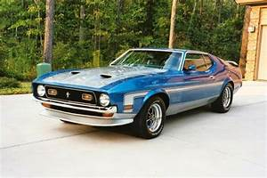 Classic American Cars: Ford Mustang Mach I 2nd gen (1971-1973)
