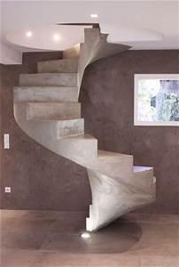 Escalier Colimaçon Beton : scal 39 in pour un professionnel en haute garonne 31 ~ Melissatoandfro.com Idées de Décoration