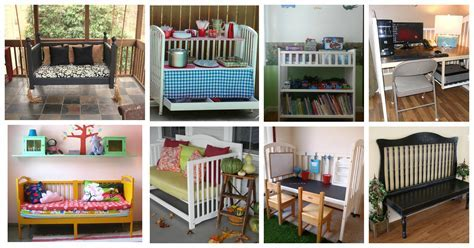 Fascinating Ways To Repurpose Baby Cribs In Home Decor