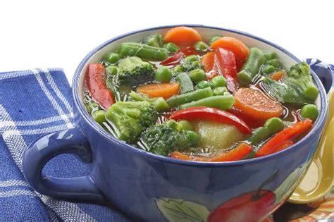 cuisiner du thon potage de legumes weight watchers cookeo un plat de dîner