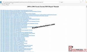 Car Complaints  2005 Toyota Sienna Repair Manual Pdf
