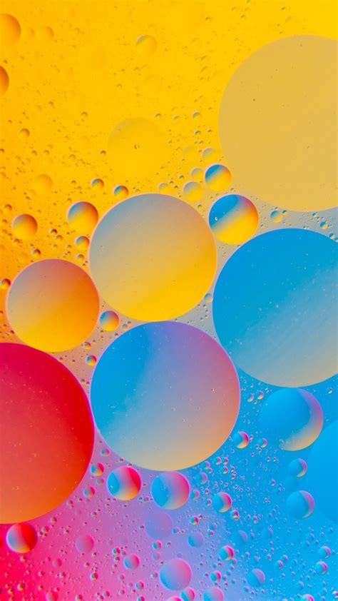 wallpaper bubbles circles colorful  abstract