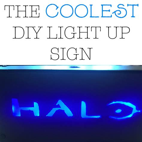 diy light sign board the coolest diy light up sign sincerely saturday
