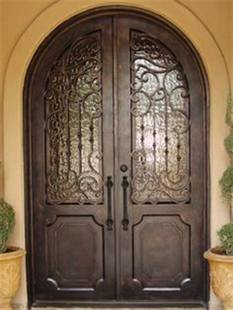 images  front doors  pinterest iron doors