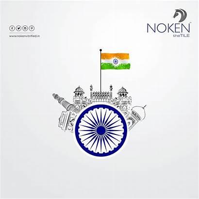 Independence Republic Poster Happy Patriotism India Indian