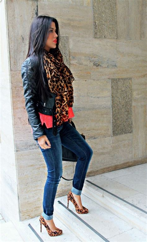 25+ best ideas about Leopard shoes outfit on Pinterest | Leopard print shoes Leopard shoes and ...