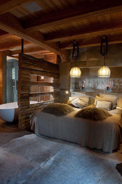 chambre style chalet de montagne deco chambre chalet montagne collection avec chambre style