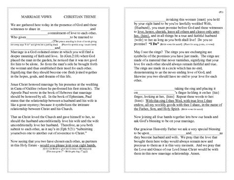 ideas sophisticated christian wedding vows for great