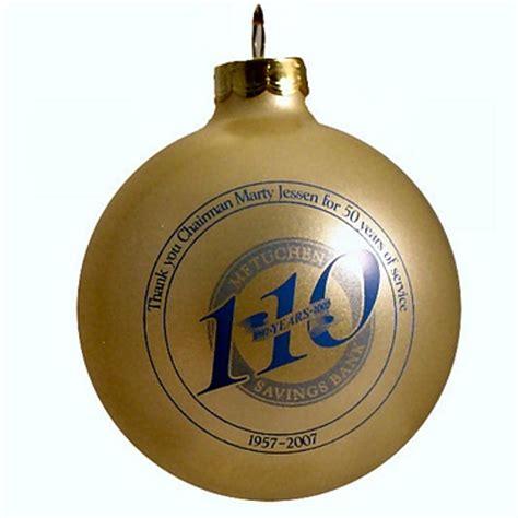 retirement party christmas ornament favor