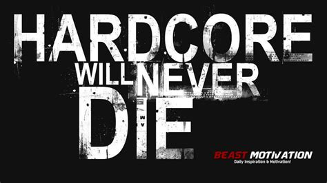 beast motivation hardcore   die