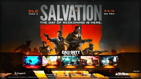 Black Ops 3 'salvation' Dlc  New Multiplayer Maps Ps4