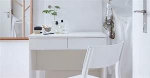 Coiffeuse Blanche Ikea : coiffeuse blanche avec chaise blanche devant ikea shopping diy pinterest coiffeuse ~ Teatrodelosmanantiales.com Idées de Décoration