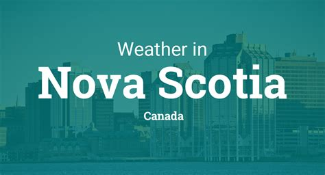 weather  nova scotia canada