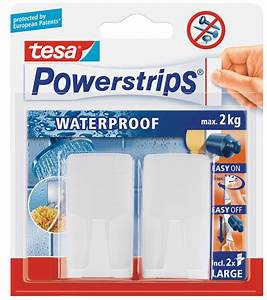 Tesa Powerstrips Waterproof : tesa 59701 powerstrips waterproof wave hooks white at reichelt elektronik ~ Orissabook.com Haus und Dekorationen
