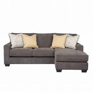ashley furniture hodan fabric 2 piece sectional in marble With 2 piece sectional sofa ashley