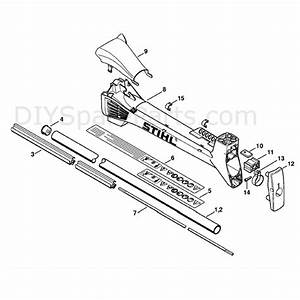 Stihl Fs 310 Clearing Saw  Fs310  Parts Diagram  Drive Tube Assembly