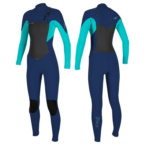 Women's O'Neill Epic 4/3mm Chest Zip Wetsuit 2020   Free ...