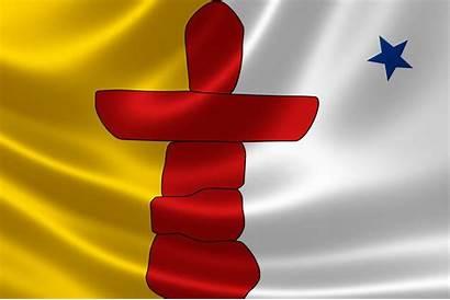 Nfcm Nunavut Flag Previous Territory Canada Rendering